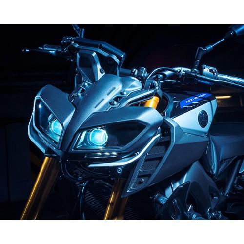 Aggressive LED double headlights