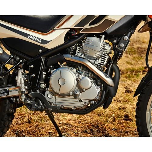 Air-cooled 250cc four-stroke