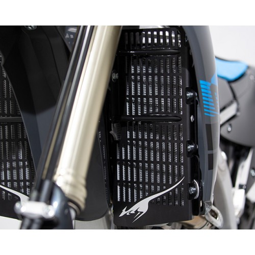 High efficiency angled radiators